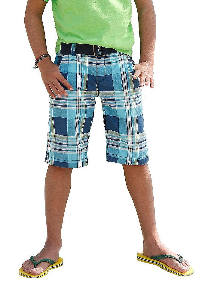 Arizona бермуды и пояс (набор из 2 частей) OttoБрюки и джинсы<br>Прекрасные бермуды длиной до колен из ткани в клетку с втачными карманами и накладными задними карманами. К модели прилагается текстильный ремень. br&gt; 100% хлопок<br><br>Size DE: 182<br>Colour: синий<br>Gender: Мужской<br>Age: Детский<br>Material: Верх: 65% полиэстер / 35% хлопок