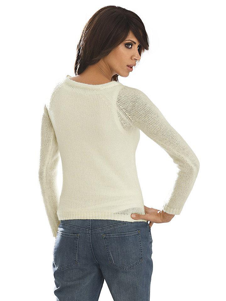Пуловер Цвета Экрю