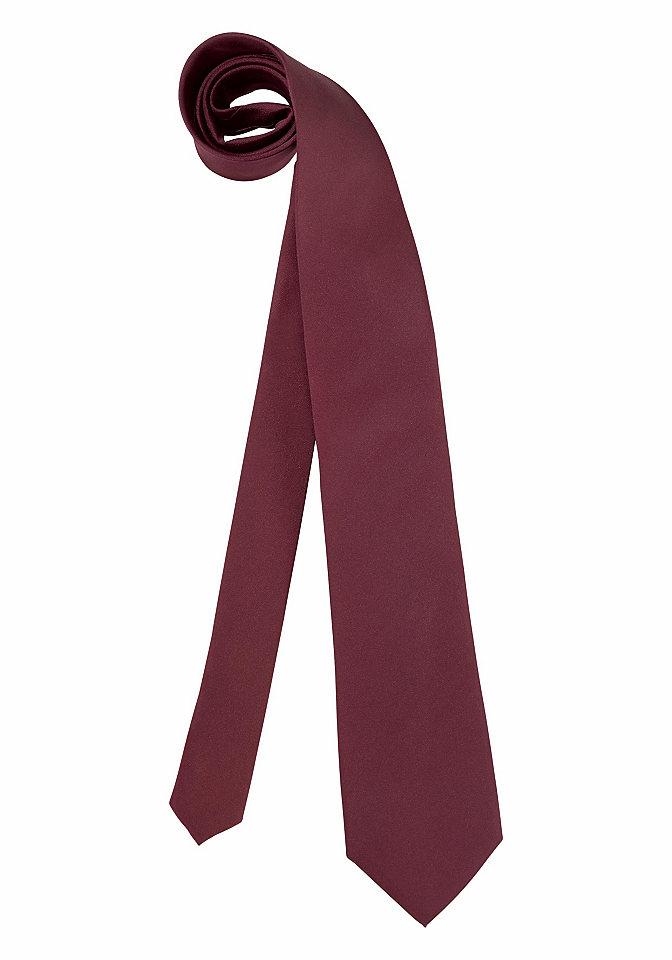 Галстук о OttoОфисная одежда<br>Однотонный цвет. Ширина ок. 8 см. 100 % полиэстера. Специальная чистка (химчистка).<br><br>Size DE: 1<br>Gender: Мужской<br>Age: Взрослый<br>Material: Верх: 100% полиэстер