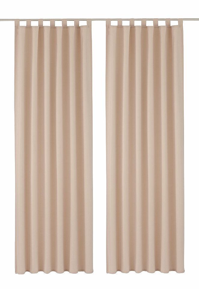Шторы «Ravenna» от my home, 2 штуки OttoШторы и занавески<br>Непрозрачные шторы «Ravenna» из микрофибры отличного качества, которая не требует особого ухода. От my home. Восхитительная цветовая гамма. Отдельно или в сочетании с римскими шторами эти однотонные шторы красиво смотрятся в любом интерьере. Совет по комбинированию Чехлы для подушек и римская штора «Ravenna».  Описание Указанные размеры – это размеры полотна. В готовом виде (с учетом драпировки) ширина примерно вдвое меньше. Дизайн Гладкая поверхность. Однотонный цвет. Красивый материал с лицевой и изнаночной стороны. Материал 100 % полиэстера. Советы по уходу Деликатная машинная стирка при температуре 30 °C, лёгкий уход. Полезная информация Небольшое окно зрительно увеличивается, если повесить занавески длиной до пола справа и слева от рамы окна. Качество Высокое качество гарантировано! Это изделие регулярно подвергается контролю нашего отдела контроля качества продукции. В соответствии со строгими критериями изделие проходит контроль на предмет отсутствия остатков формальдегидов, тяжёлых металлов, пестицидов и полихлорированных бифенилов.<br><br>Size DE: 2<br>Colour: бежевый<br>Age: Взрослый<br>Material: Верх: 100% полиэстер