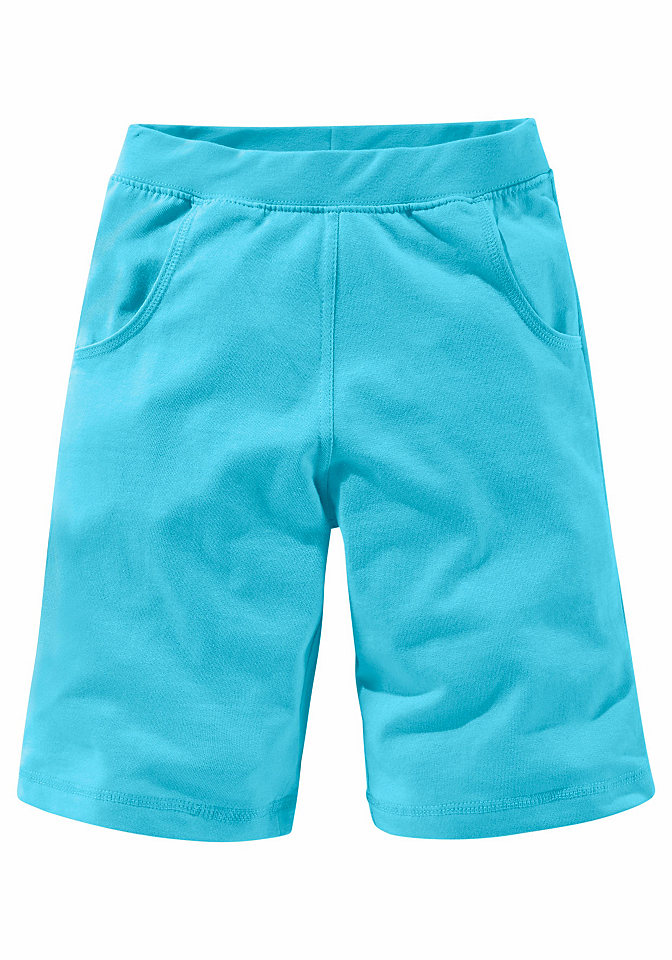 Шорты OttoБрюки и джинсы<br>Спортивные шорты для Вашего мальчика предлагает бренд CFL. Они точно не оставят его равнодушным. Комфортный пояс в рубчик и модная длина в тандеме с втачными карманами превращают их в незаменимый элемент детского гардероба. Простой фасон позволяет сочетать их с любыми футболками. CFL - модная одежда для детей! Материал: 100% хлопок.<br><br>Size DE: 128<br>Colour: зеленый<br>Gender: Мужской<br>Age: Детский<br>Material: Верх: 100% хлопок (органический) / 100% Baumwolle_(unterst?tzt_Cotton_made_in_Africa)