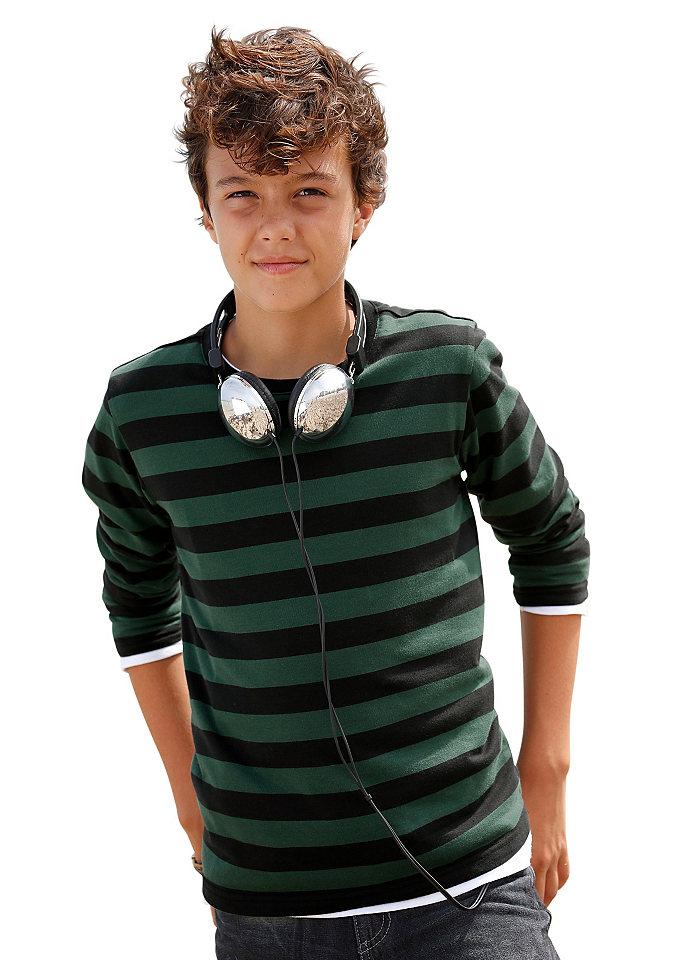 CFL, футболка с длинным рукавом, в полоску, для мальчиков Otto