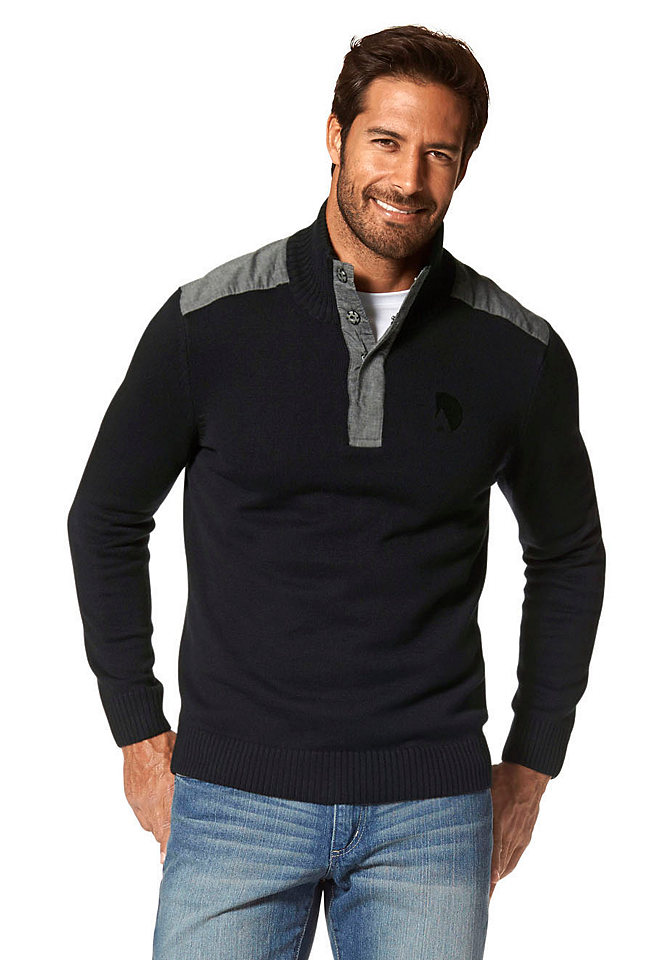 Пуловер-поло Otto