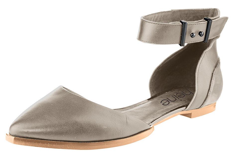 Балетки OttoБалетки и мокасины<br>Комфортные балетки - отличные летние туфли на каждый день! Благородная кожа дополнена лакированными синтетическими деталями. Ремешок на щиколотке надежно фиксирует обувь на ноге. Внутренняя кожаная отделка и хорошо гнущаяся подошва создают комфорт во время ходьбы. Спешите купить эти кожаные балетки в нашем интернет-магазине одежды, в них вам будет удобно!<br><br>Size DE: 38<br>Colour: бежевый<br>Gender: Женский<br>Age: Взрослый