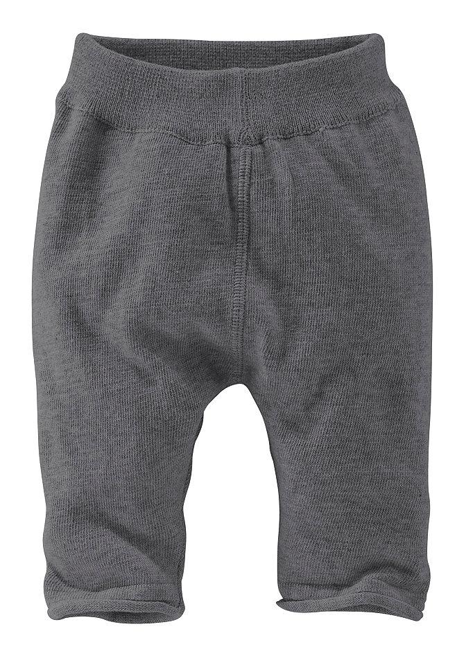 Трикотажные штанишки для младенцев OttoДевочки до 3 лет<br>С манжетами и закрученным нижним краем. Сзади модная вставка для оптимального комфорта. Приятный на ощупь трикотаж из 100 % хлопка.<br><br>Size DE: 56<br>Colour: серый<br>Age: Детский<br>Material: Верх: 100% хлопок