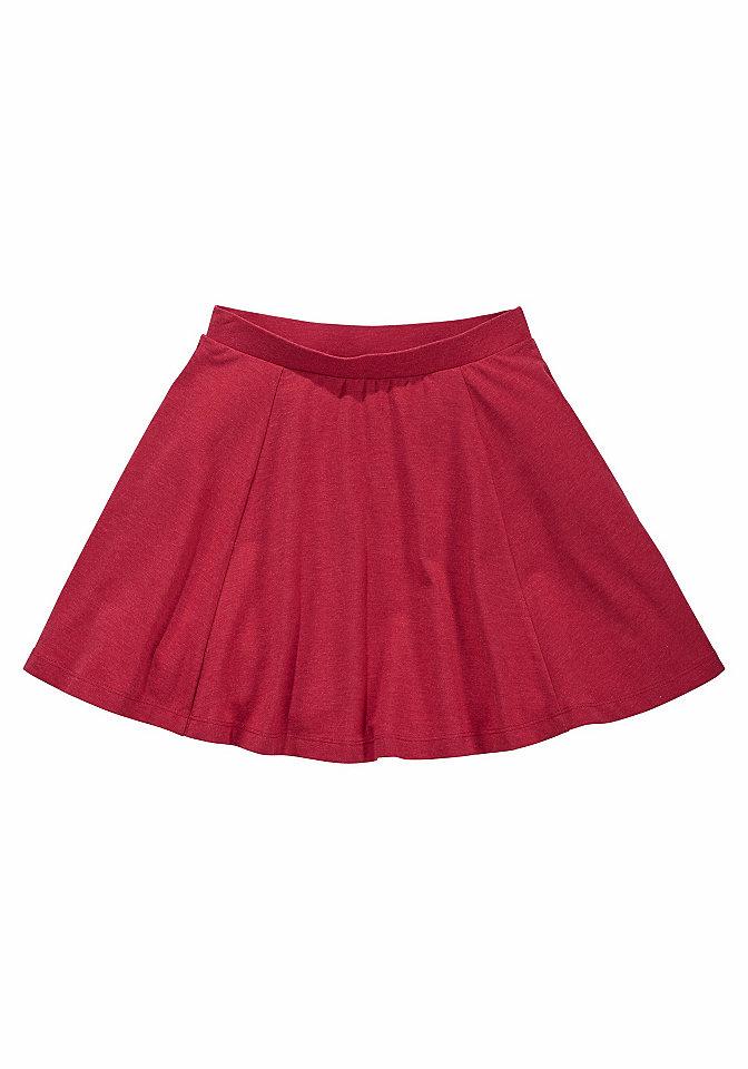 Юбка OttoЮбка от марки Kidsworld порадует каждую девочку. А-силуэт, мягкое джерси с высокой долей хлопка и красивым эффектом меланжа. Легко надевается благодаря поясу на резинке. Отлично смотрится с любыми блузками, топами, футболками и даже джинсовой ветровкой. Материал: 57% хлопок, 38% полиэстер, 5% эластан, серый меланжевый: 85% хлопок, 10% вискоза, 5% эластан, красный меланжевый: 60% хлопок, 35% полиэстер, 5% эластан.<br><br>Size DE: 128<br>Colour: красный<br>Gender: Женский<br>Age: Детский<br>Material: Верх: 57% хлопок / 38% полиэстер / 5% эластан