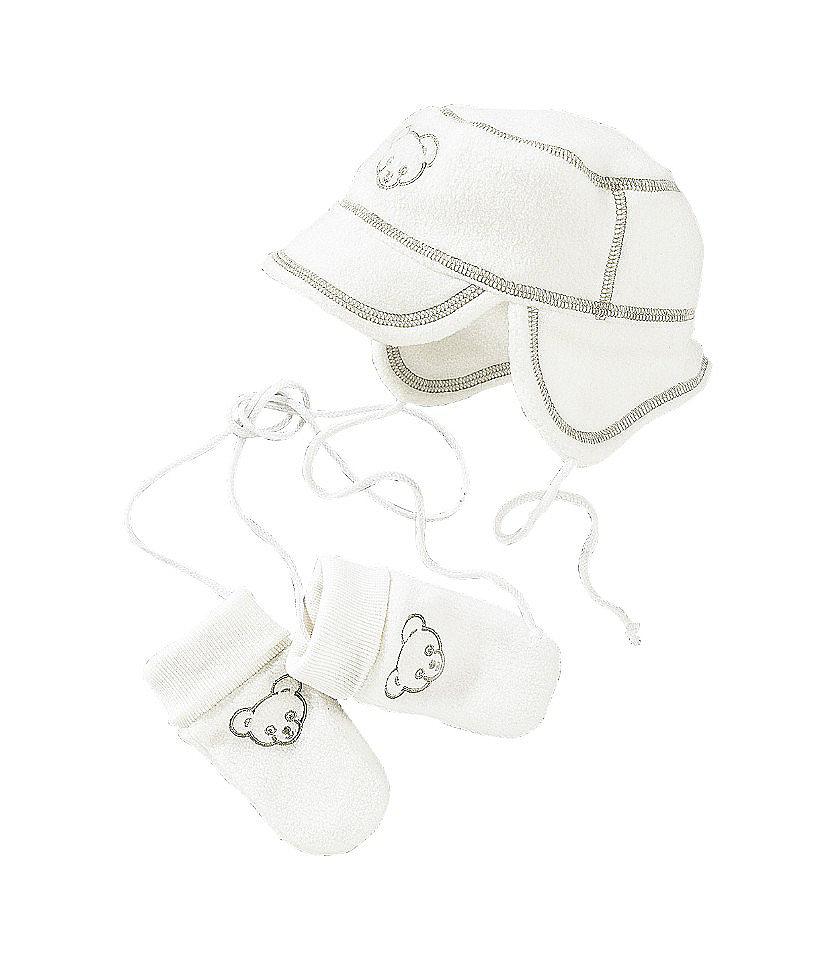Набор: шапка и рукавички из флиса для младенцев Otto