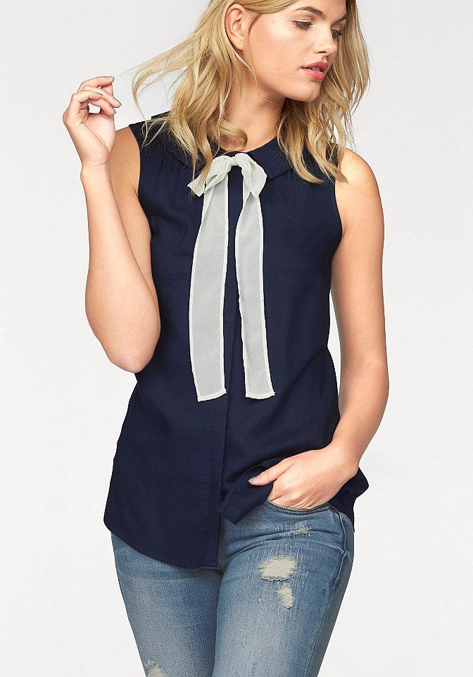 Женские блузки синего цвета купить