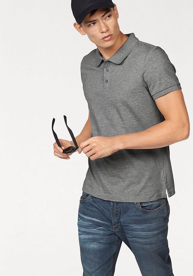 Пол OttoУличная одежда<br>Классическая рубашка-поло от John Devin выполнена из однотонного натурального хлопка, что позволяет создать множество различных образов с данной моделью. Рекомендована машинная стирка. Цвет серый меланж. Состав: 85% хлопок, 15% вискоза. Цвет голубой, белый, черный. Состав: 100% хлопок.<br><br>Size DE: XS<br>Colour: серый<br>Gender: Мужской<br>Age: Взрослый<br>Material: Верх: 85% хлопок / 15% вискоза