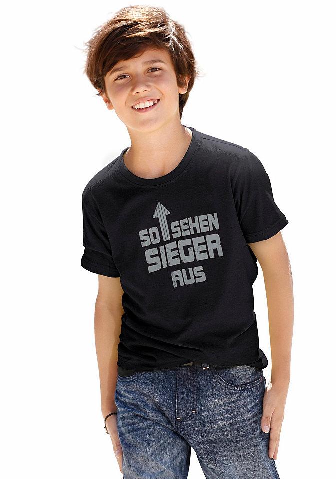 Футболка для мальчиков «So sehen Sieger aus» («Так выглядят победители») Otto