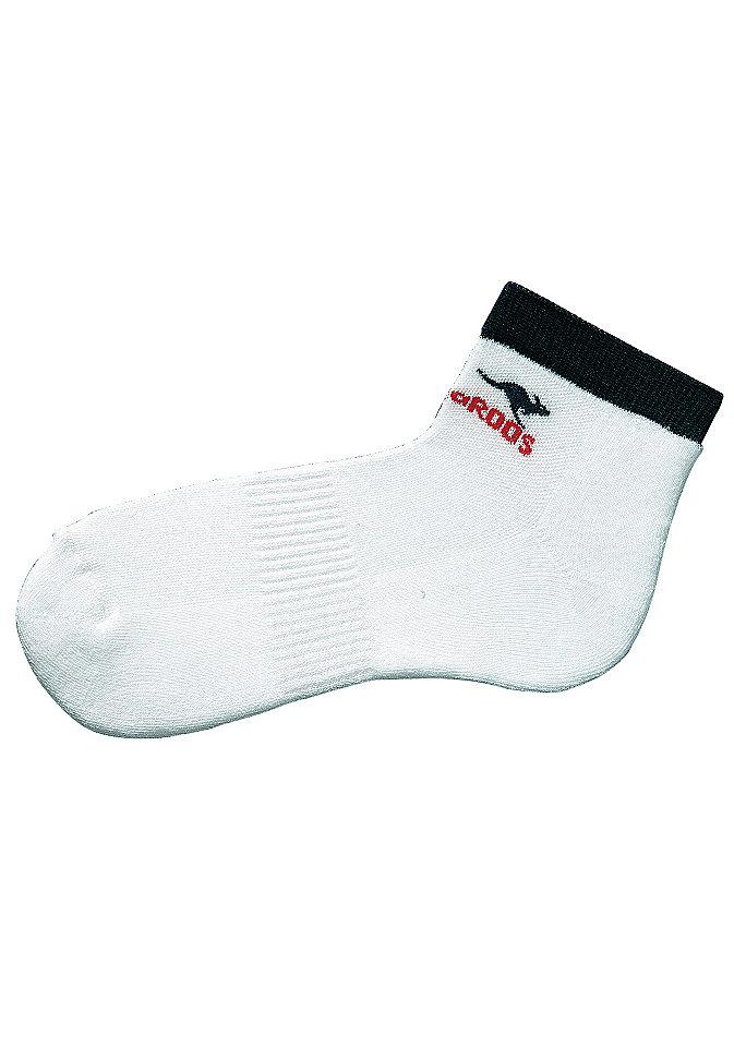 Комплект: Короткие носки женские, KangaROOS® (4 пары) Otto
