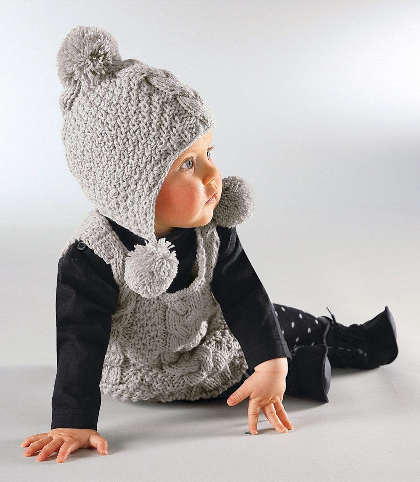 Вязаные детские шапки с ушками