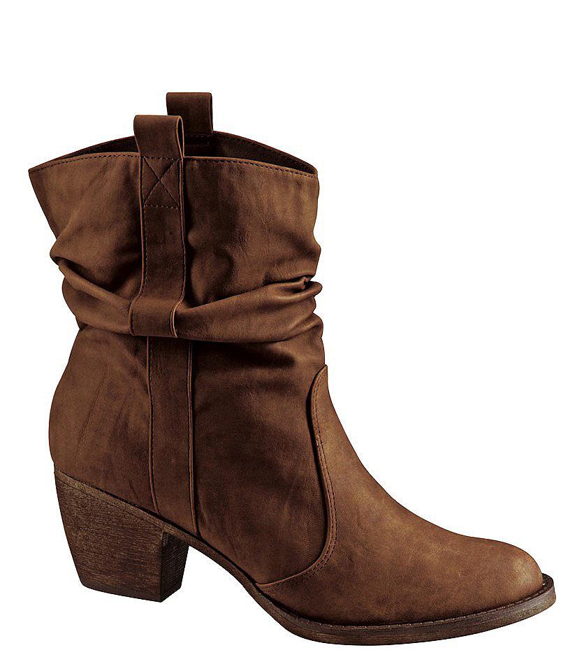 Сапожки OttoСапожки<br>Сапожки, City Walk. Жатая, мягкая искусственная кожа с актуальными сборками и самых актуальных зимних расцветок. Приятная на ощупь, мягко уплотнённая внутренняя отделка из текстиля. Прочная, гибкая подошва в стиле вестерн с каблуком 4,5 см.<br><br>Size DE: 37<br>Colour: коричневый<br>Gender: Женский<br>Age: Взрослый