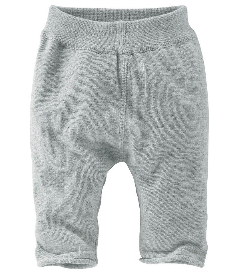 Трикотажные штанишки для младенцев OttoДевочки до 3 лет<br>С манжетами и закрученным нижним краем. Сзади модная вставка для оптимального комфорта. Приятный на ощупь трикотаж из 100 % хлопка.<br><br>Size DE: 80<br>Colour: серый<br>Age: Детский<br>Material: Верх: 100% хлопок