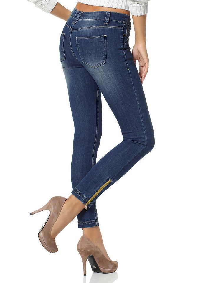 Женские джинсы молния