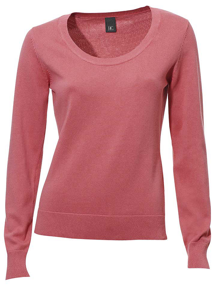 Пуловер OttoКозерог<br>Пуловер с круглым вырезом. Длина ок. 60 см.<br><br>Size DE: 46<br>Colour: красный<br>Gender: Женский<br>Age: Взрослый<br>Material: Верх: 100% Baumwolle_(mass_balance)