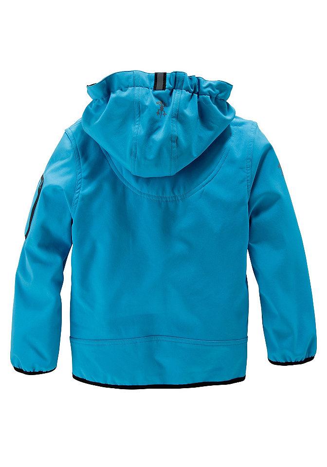 Exes, куртка из софтшелла с капюшоном, для мальчиков Otto от OTTO