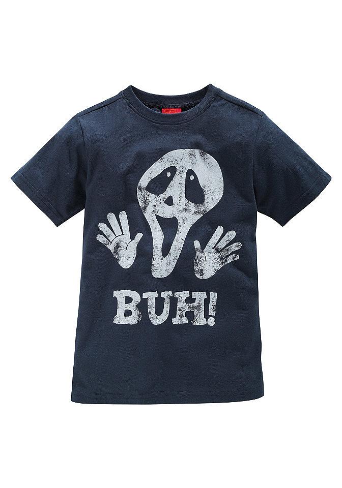 CFL, футболка «BUH!» для мальчиков OttoФутболки и поло<br>Футболка от CFL для мальчиков. Со стильной надписью спереди. Из 100 % хлопка.<br><br>Size DE: 164<br>Colour: синий<br>Gender: Мужской<br>Age: Детский<br>Material: Верх: 100% Baumwolle_(unterst?tzt_Cotton_made_in_Africa)