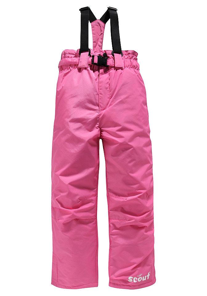 Утепленные брюки OttoНадежные зимние брюки SCOUT с регулируемыми и съемными подтяжками. Модель имеет такие необходимые детали, как кнопки, молнии и дополнительный ремень на защелке. Боковые карманы на молнии. Светоотражающие швы, боковые разрезы с липучками на лодыжках создают дополнительное пространство для ботинок. Брюки подойдут и для снежной погоды. Удобный крой обеспечивает свободу движения и позволяет бегать и играть. Можно не покупать на вырост: доступны модели для любого роста. Дизайн: универсальный. Длинная модель. Высокая посадка. Кромка: прямая. Материал: 100% полиамид. Подкладка: 100% полиэстер. Технические характеристики: ветрозащитный и водоотталкивающий. Тип застежки: застёжка-липучка. Боковые карманы: есть. Задние карманы: нет. Тип пуговиц: кнопочные. Ширина шлевки ремня: 5,5 см. Обеспечение безопасности: светоотражающие элементы. Аксессуары: ремни. Другое: принт с логотипом производителя. Рекомендуется машинная стирка.<br><br>Size DE: 164<br>Age: Детский<br>Material: Подбивка: 100% полиэстер;Подкладка: 100% полиэстер;Верх: 100% полиэстер