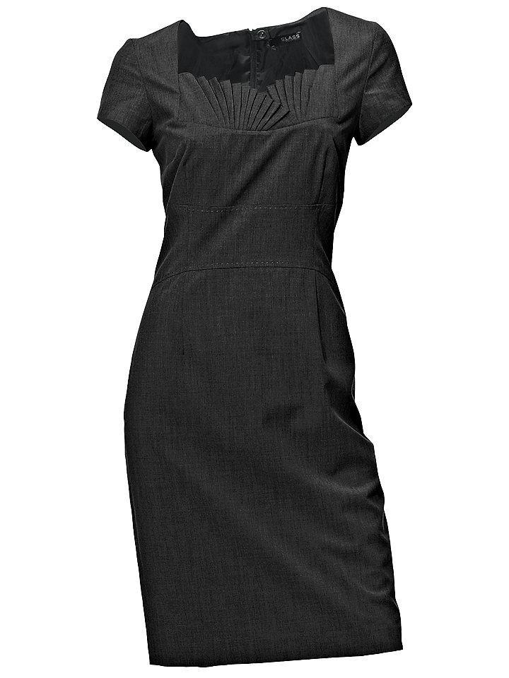 Платье OttoПлатья-футляры<br>Оригинальная вставка на вырезе! Приталенный фасон. Застёжка на молнию в шве сзади. Потайная шлица сзади. Длина ок. 98 см. Покрой великолепно подчёркивает фигуру. 81 % полиэстера, 17 % вискозы, 2 % эластана. Подкладка: 100 % полиэстера. Машинная стирка.<br><br>Size DE: 34<br>Colour: черный<br>Gender: Женский<br>Age: Взрослый<br>Material: Подкладка: 100% полиэстер;Верх: 81% полиэстер / 17% вискоза / 2% эластан