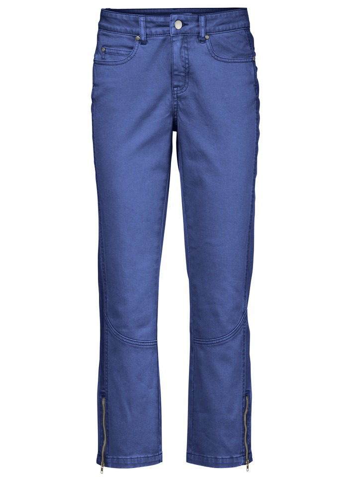 B.C. BEST CONNECTIONS 3/4 kalhoty modrá - Normální délka (N)