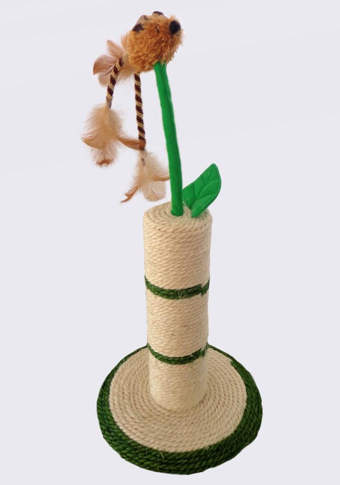 SILVIO DESIGN Škrabací kmen / strom Flower přírodní