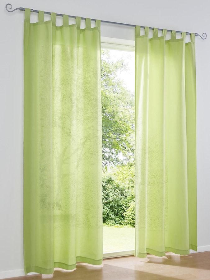 heine home Dekorační závěs zelená