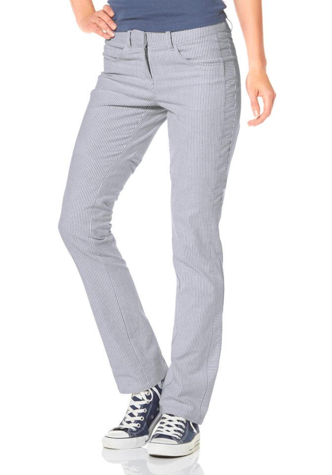 FLG FLASHLIGHTS Kalhoty roury, Flashlights bílá/černá - Normální délka (N)