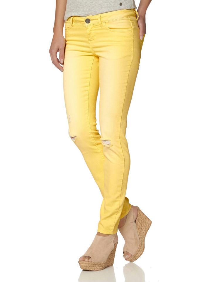 AJC Kalhoty AJC žlutá - Normální délka (N)