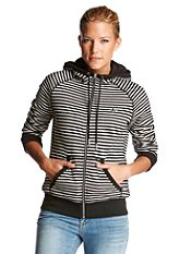 adidas Originals Kapucnis dzseki, �FT HOODIE TRACKTOP STRIPES�