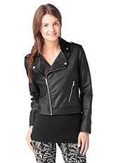 adidas Originals Dzseki, �FAUX LEATHER JACKET�