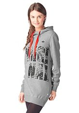 adidas Originals Hossz� kapucnis fels�r�sz, �ORIGINALS LONGSLEEVES HOODED DRESS�