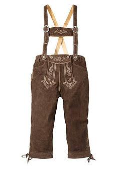 3/4 kožené krojové kalhoty, Stockerpoint