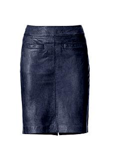 Kožená sukně
