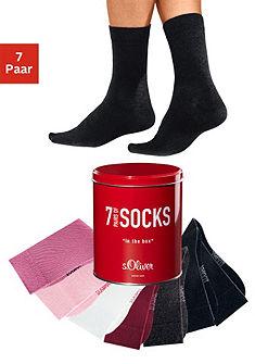 Ponožky, s.Oliver (7 párů)