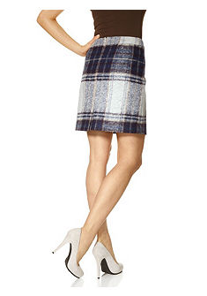 Károvaná sukně