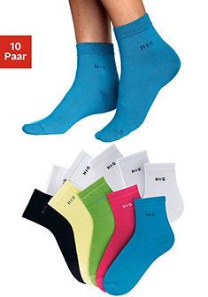 Krátké ponožky, H.I.S (5 nebo 10 páry)