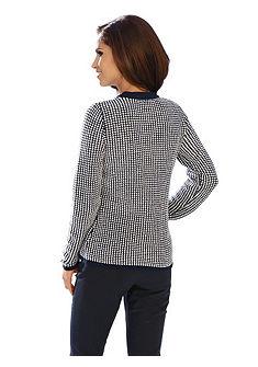 Krátký pletený svetr