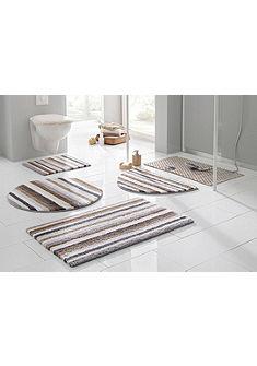 Fürdőszobaszőnyeg,kerek, Ecorepublic, »Tim«, kétoldalas,bio pamutból