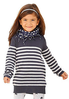 Dlouhý pulovr, pro dívky