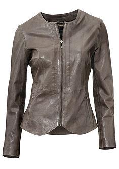 Kožená bunda, z jehněčí kůže napa