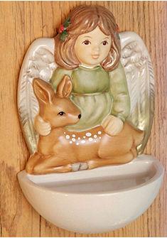 Nádoba na svěcenou vodu, »strážný anděl zvířat« Goebel