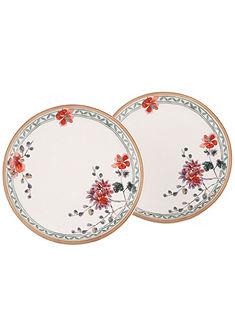 Raňajkový tanier v 2-dielnej súprave, Villeroy & Boch »kvetinový dekor«