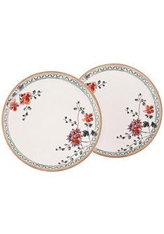 Jedálenský tanier v 2-dielnej súprave