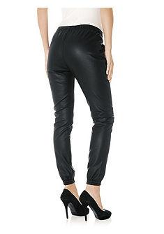 Koženkové kalhoty