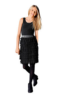 Buffalo Volánikové šaty pre dievčatá