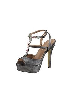 Pásikavé sandále, Melrose