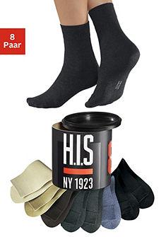Ponožky , H.I.S, Hölgyeknek & Uraknak (8 párů)