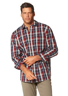 Man's World Kockovaná košeľa