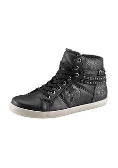 Tom Tailor fűzős magasszárú cipő